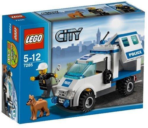 LEGO City 7285 Polizeihundeeinsatz Figur Polizist + Polizeihund Hund + Zubehör!