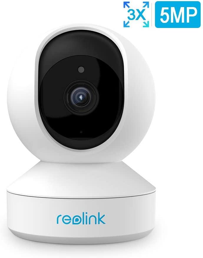 Reolink E1 Zoom (2560x1920 @ 20fps, 3x optischer Zoom, 355° Schwenk & 50° Neigung, Zwei-Wege-Audio, Dualband-WLAN, lokaler Betrieb möglich)