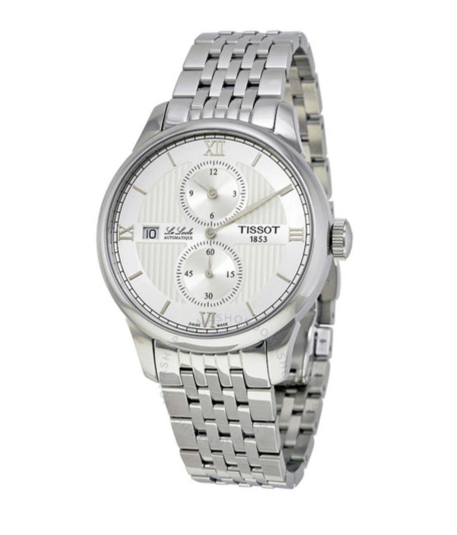 Tissot Le Locle Automatic Mens Watch T006.428.11.038.02 ( Edelstahl, Saphirglas, Automatik, 39,3 Durchmesser )