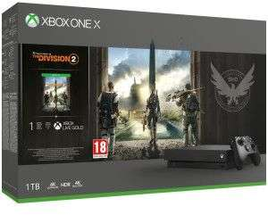 [lokal Neustadt a. Rbge] Microsoft Xbox One X1TB + Tom Clancy's: The Division 2