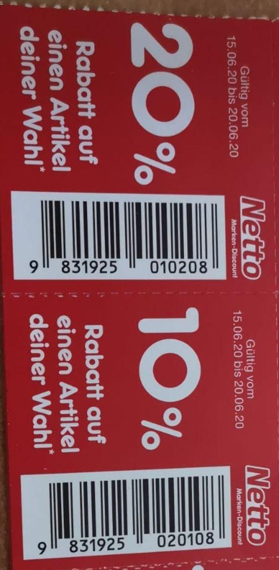 [Netto MD] Rabatt-Aufkleber KW25, bundesweit einsetzbar