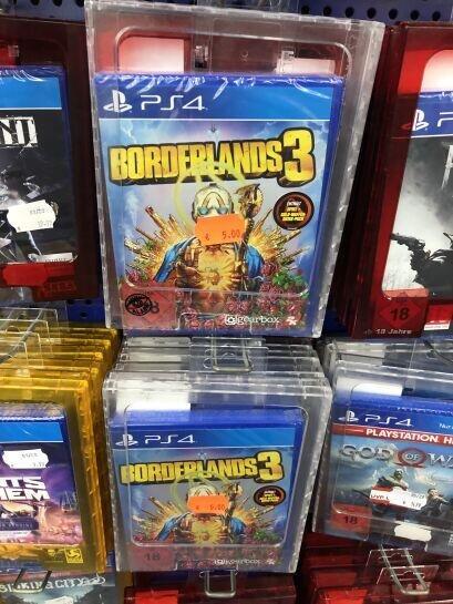 [Lokal Saturn Hannover] Borderlands 3 PS4 und Xbox One für 5€