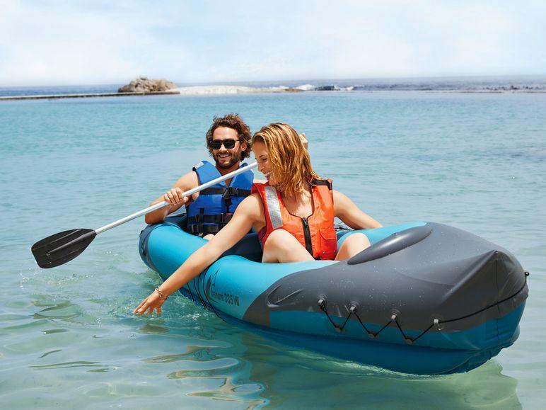 [Lidl off- und online] CRIVIT® aufblasbares Kajak / Kanu oder Schlauchboot für je 39,99 €