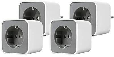 [Amazon.es] Osram Ledvance Smart+ Plug Zigbee, Smart Home schaltbare Steckdose 4 Stück Hue kompatibel