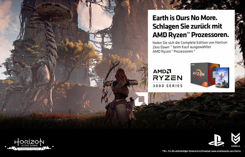 Horizon Zero Dawn Kostenlos beim Kauf einer Ryzen CPU