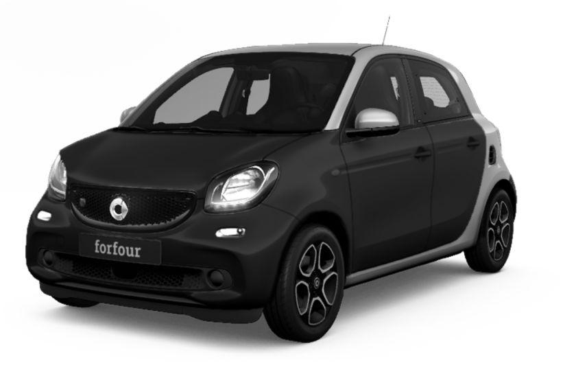 (Gewerbeleasing) Smart EQ ForFour, 39€, LF 0,19, ohne ÜK, sofort verfügbar, 36M,10.000km