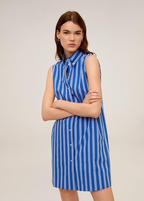 10% Rabatt on top auf den Mango-Sale, z.B. Hemdkleid aus Baumwolle (mit Filialversand)