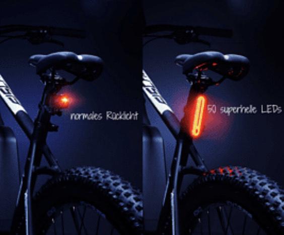 Rücklicht Fahrrad LED Fischer