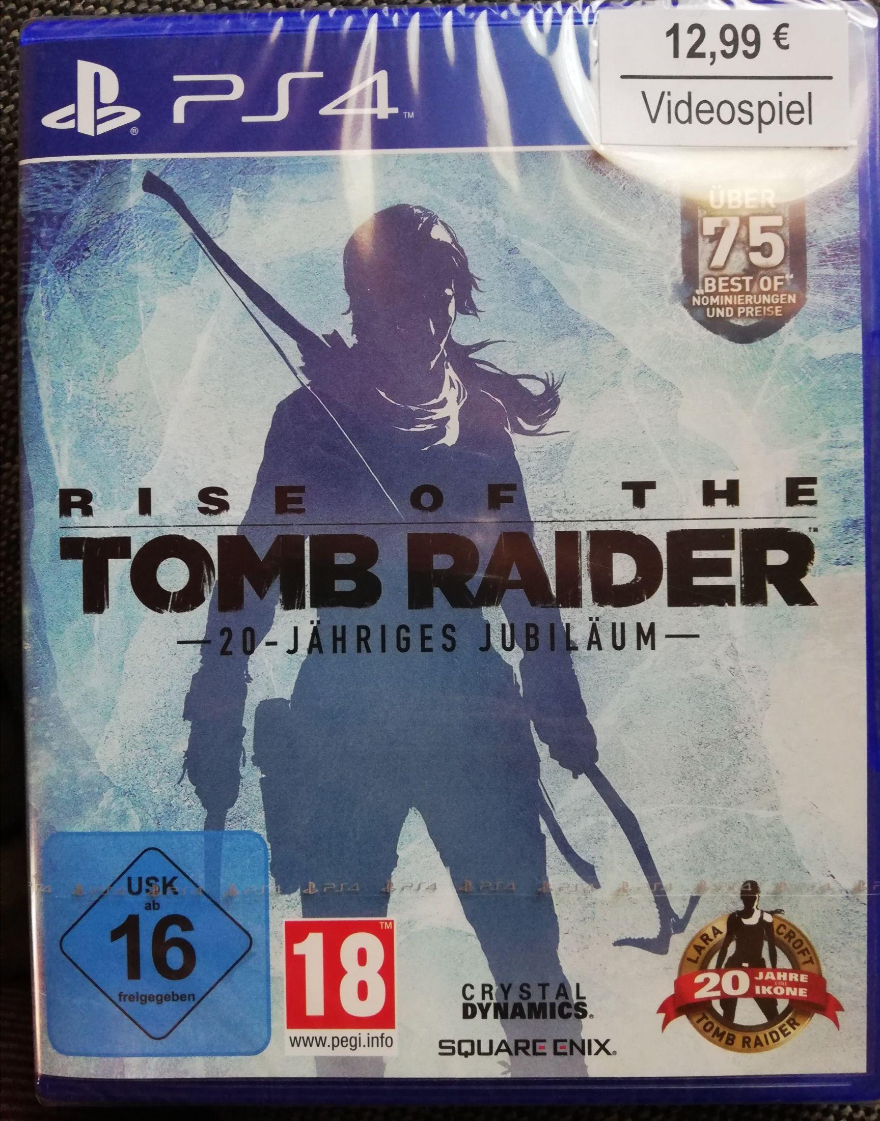 Rise of the Tomb Raider 20-Jähriges Jubiläum - Standard Edition PS4 - Nur Abholung!