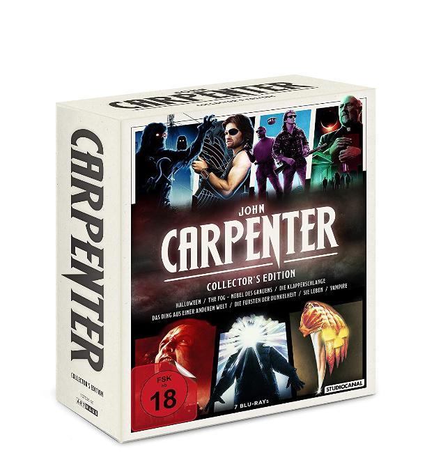 John Carpenter Collector's Edition (Blu-ray) für 35,27€ inkl. Versand (Amazon)