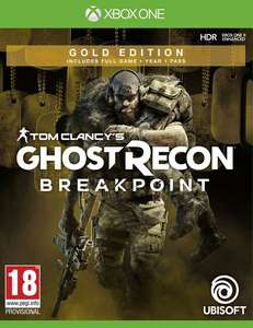 Tom Clancy's Ghost Recon: Breakpoint Gold Edition (Xbox One) [Coolshop]