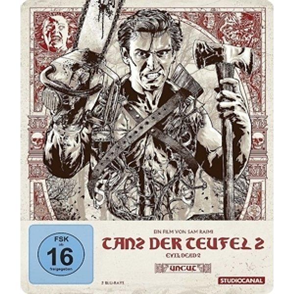 Tanz der Teufel 2 - Uncut - Steelbook - Collector's Edition (Blu-ray) für 16,99€