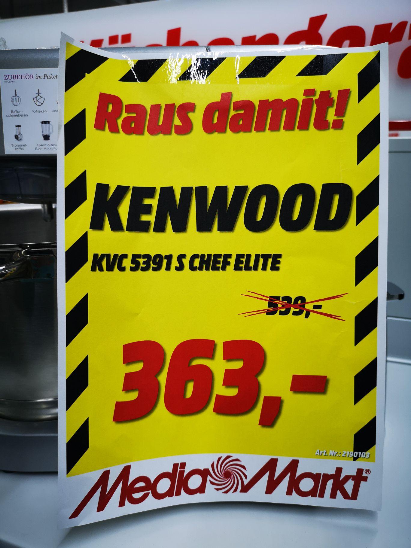 Küchenmaschine Kenwood KVC 5391S CHEF ELITE