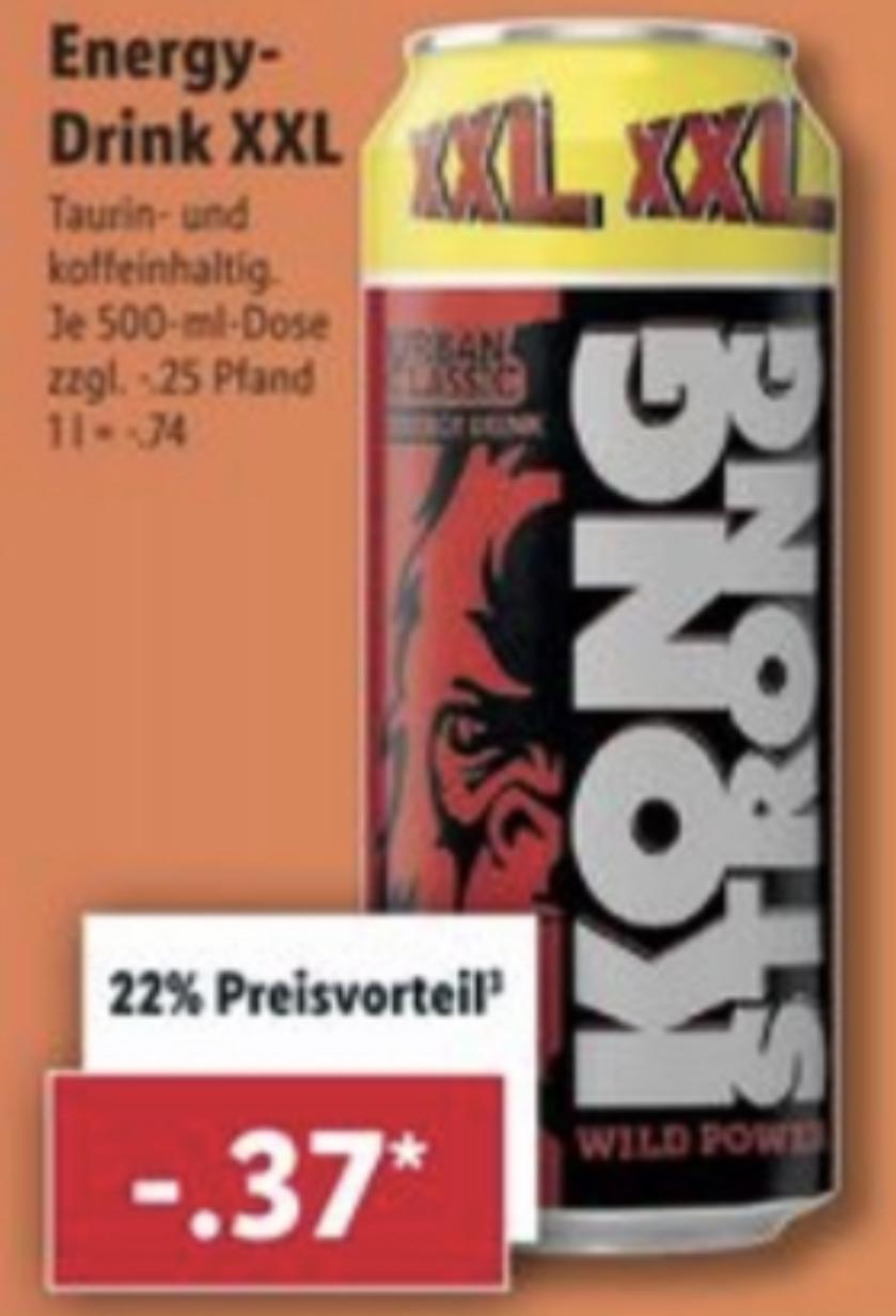XXL Woche bei Lidl: Kong Strong XXL Dose 0,5l für 0,37€ / Batterien 8 + 2 Stück für 1,54€ / verschiedene Nüsse usw.