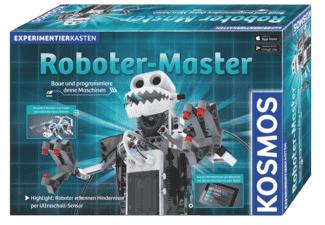 Kosmos Roboter-Master Experimentierkasten für 39,99€ (Saturn & Amazon)