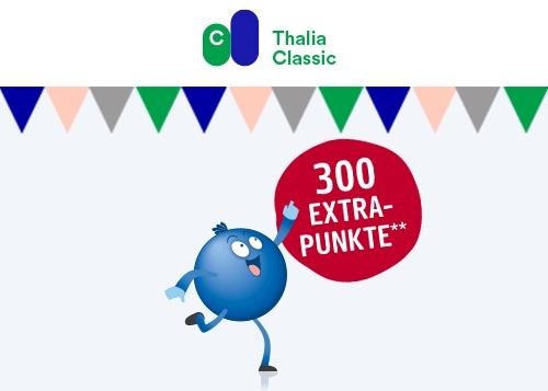 [Payback, personalisiert] 300 Extra-Punkte für die Anmeldung im kostenlosen Thalia Club