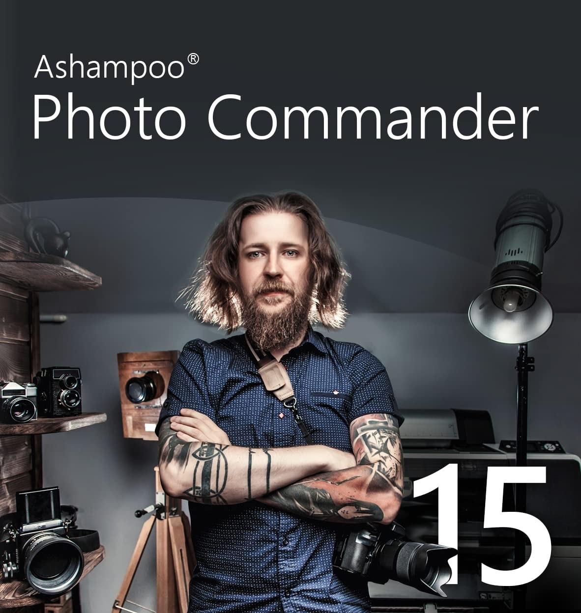 Ashampoo Photo Commander 15 (Bildbearbeitung) [Windows/Mac]