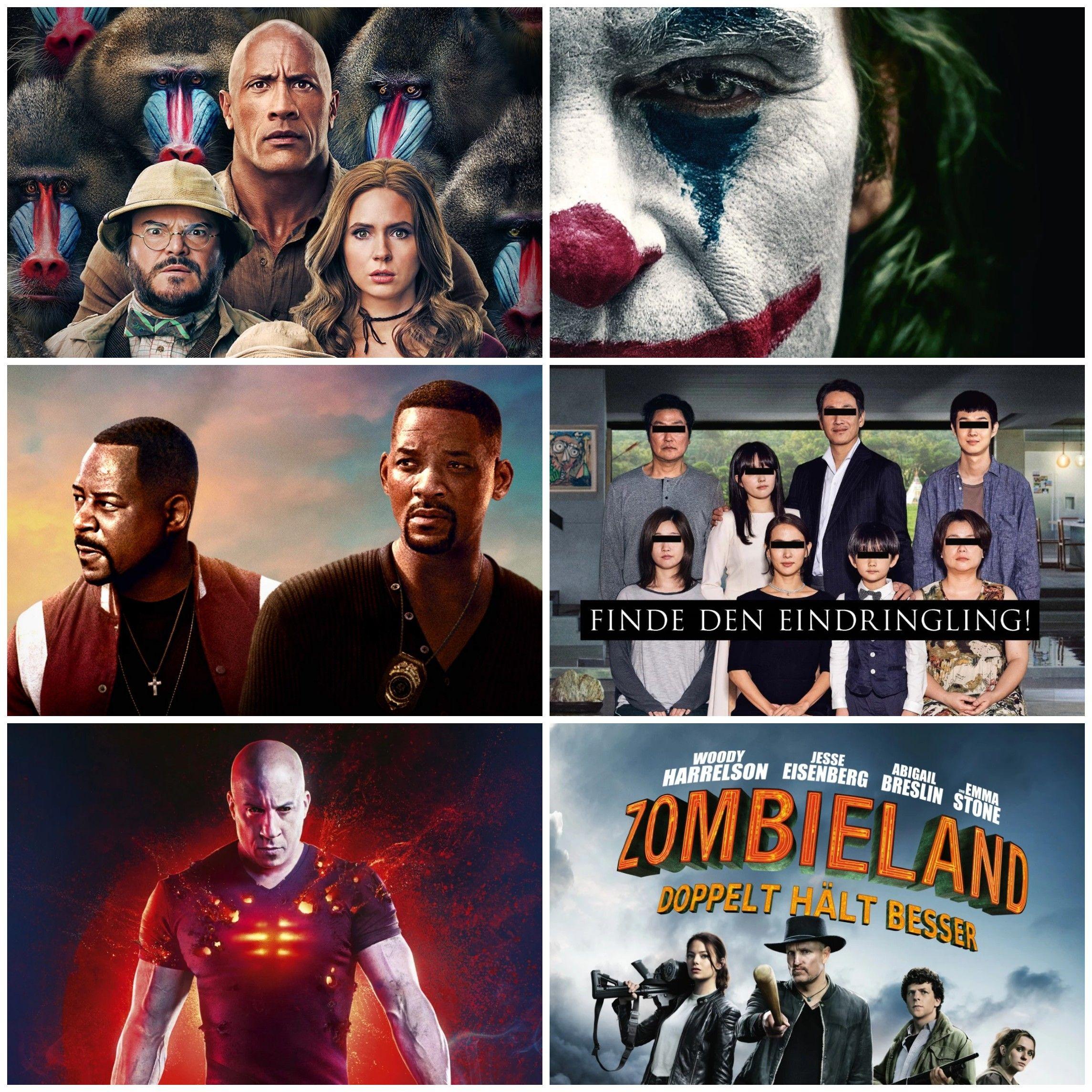 U.a. Jumanji 3 / Bad Boys 3 in 4K UHD + Joker / Parasite / Zombieland 2 in HD zum Leihen (Amazon)