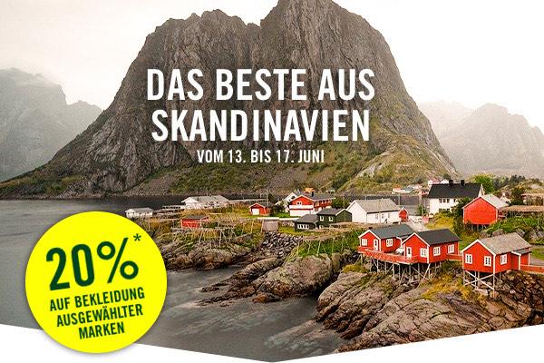 Globetrotter | Skandinavische Marken -20% reduziert an diesem Wochenende