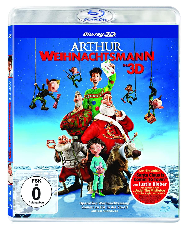 Arthur Weihnachtsmann 3D [3D Blu-ray] @ Amazon Prime
