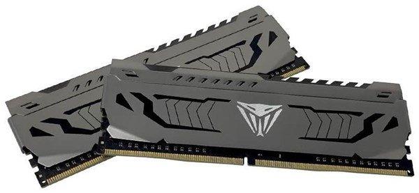 Patriot Viper Steel - 16 GB RAM, 2x 8 GB Kit - DDR4 4000 MHz B-DIEs (PC4-32000U) - DIMM 288 Pin (PVS416G400C9K)