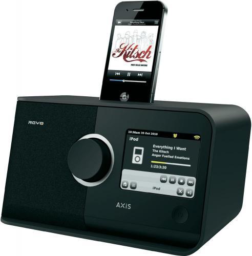 Voelkner: Revo Axis Internet Radio (DAB/DAB+) mit Dock für Apple iPod/iPhone