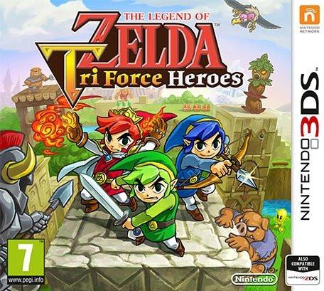 (Grenzgänger Saturn AT) The Legend of Zelda: Triforce Heroes (3DS) für 7,99€