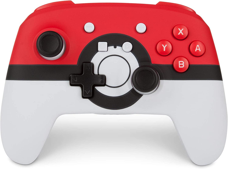 PowerA Enhanced Wireless Controller Nintendo Switch (Pokeball) für 37,25€ (Amazon UK