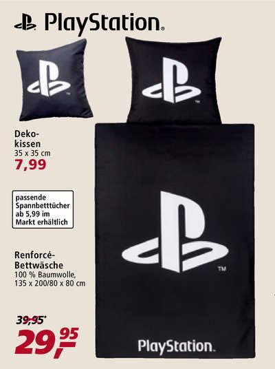 [real] PlayStation-Bettwäsche und Deko-Kissen (OFFLINE)