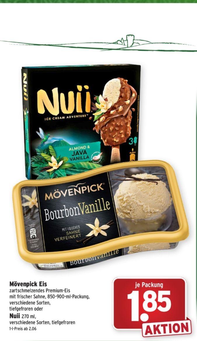 Nuii - Eis am Stiel (z.b. Salted Hazelnut & Tanzanian Coffee) 3 Stück / 270ml
