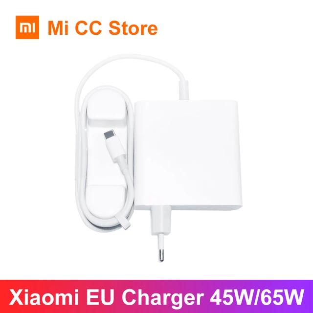 Xiaomi Ladeadapter USB C 65 Watt inklusive EU-Stecker
