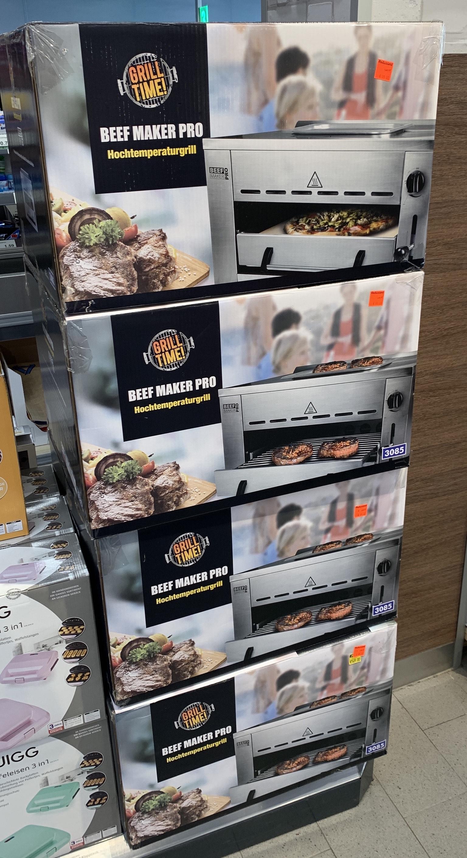 Beef Maker Pro Grill LOKAL Aldi Leipzig-Lausen-Grünau