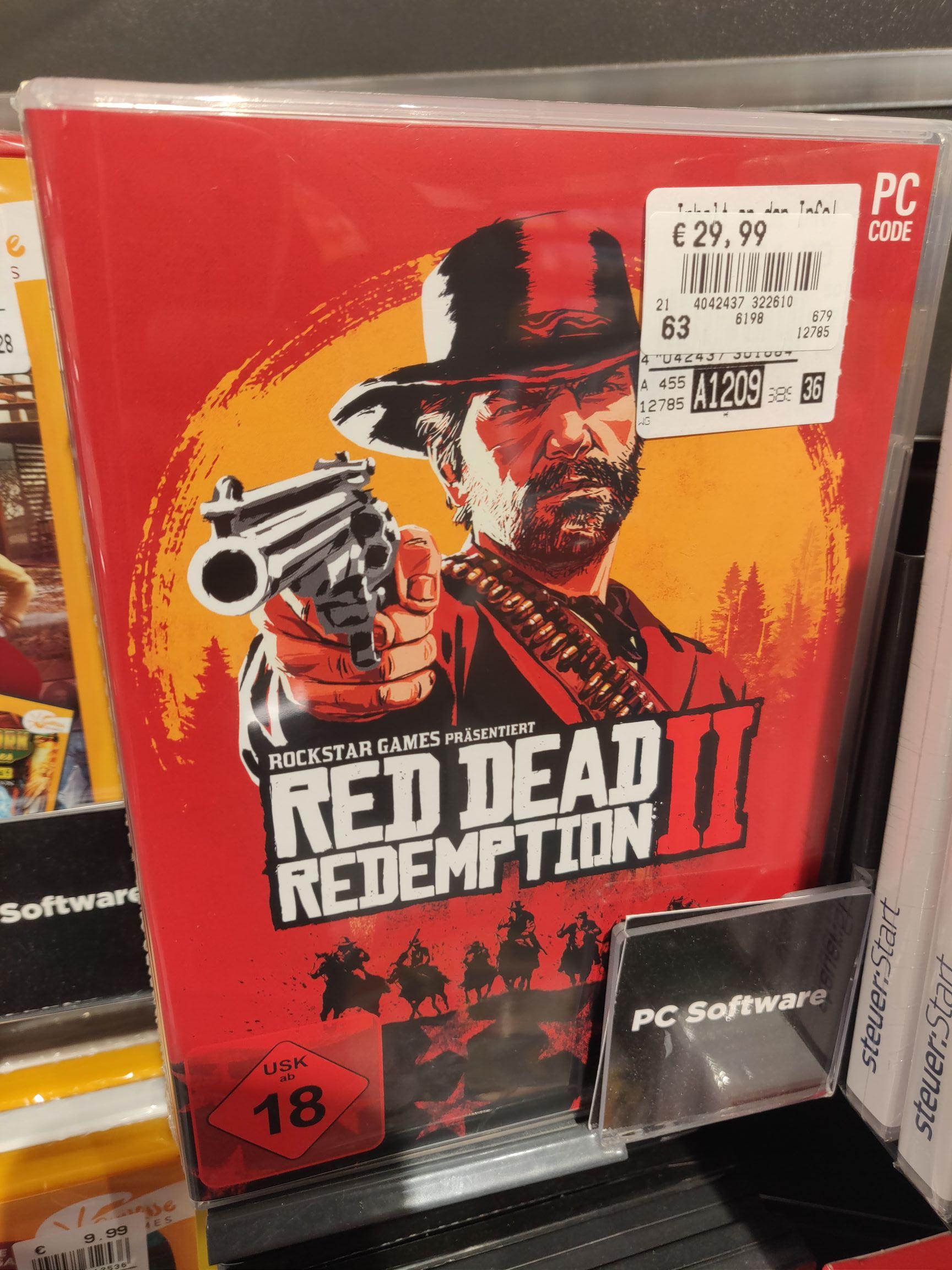 Red Dead Redemption 2 PC 29,99€ (RDR2) Stralsund