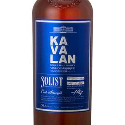 Whisky/Whiskey Kavalan Solist Vinho Barrique, Port, Sherry