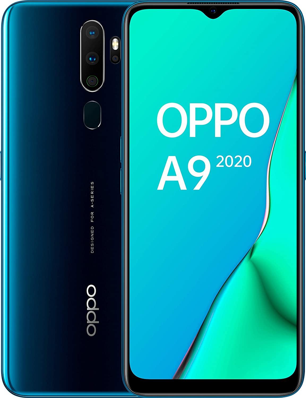Oppo A9 2020 4/128GB Snapdragon 665 6.5 inch 5000mAh Dual Sim 48MP @Amazon.es