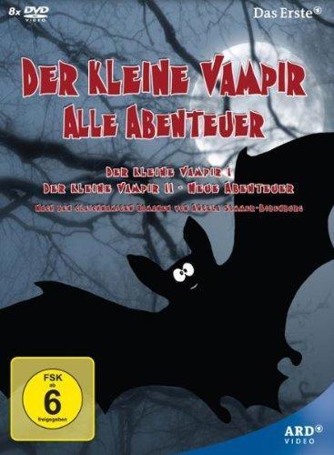 [amazon] Der kleine Vampir - Alle Abenteuer 8 DVDs