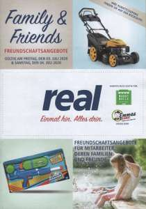"Real Family & Friends 03.07-04.07: LG TV 86"" 1513,89€; Apple Airpods 2 116,64€; 19% auf TV, Smartphones, Notebook und Tablets; 25% auf Lego"