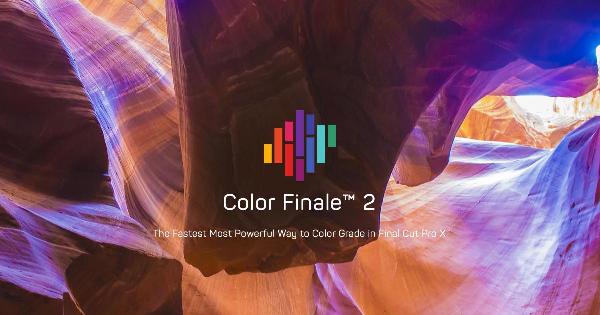 Color Finale 2 & Pro 35% bei Upgrade 50%