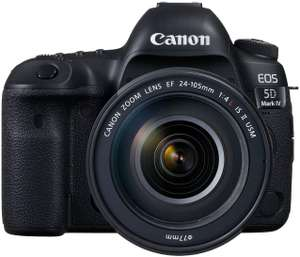 Amazon - Canon EOS 5D Mark IV + EF 24 – 105 mm f/4L IS II USM