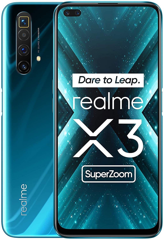 "Realme X3 SuperZoom 12/256GB (6,6"" FHD+ IPS 120Hz, SD855+, NFC, 4200mAh, AnTuTu 518k) [V&V Amazon]"