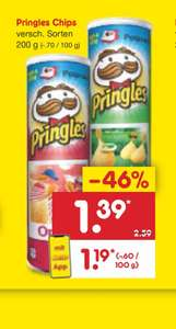 Pringles Chips bei Netto ohne Hund [Netto MD]