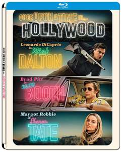 Once Upon A Time In… Hollywood Limited Steelbook Edition (Blu-ray) für 16,19€ (Müller Abholung)