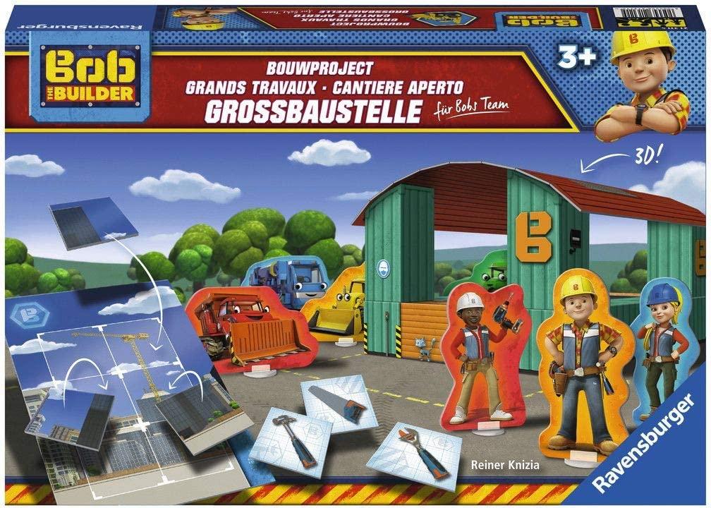 Bob der Baumeister Großbaustelle Kinderspiel, Zuordnungsspiel, Legespiel von Ravensburger