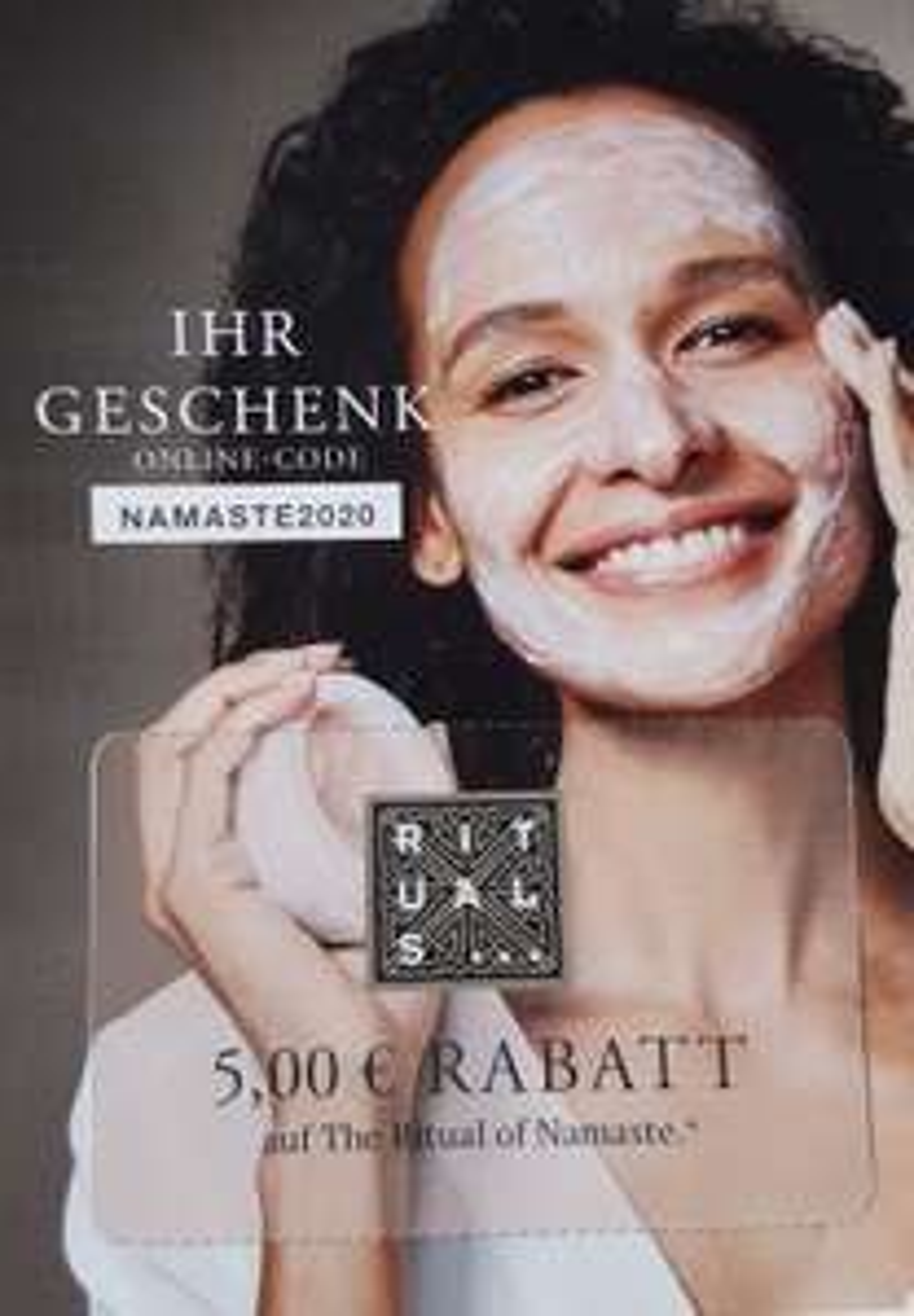 Rituals 5€ Rabattcode für Produkte der Namasté Kollektion