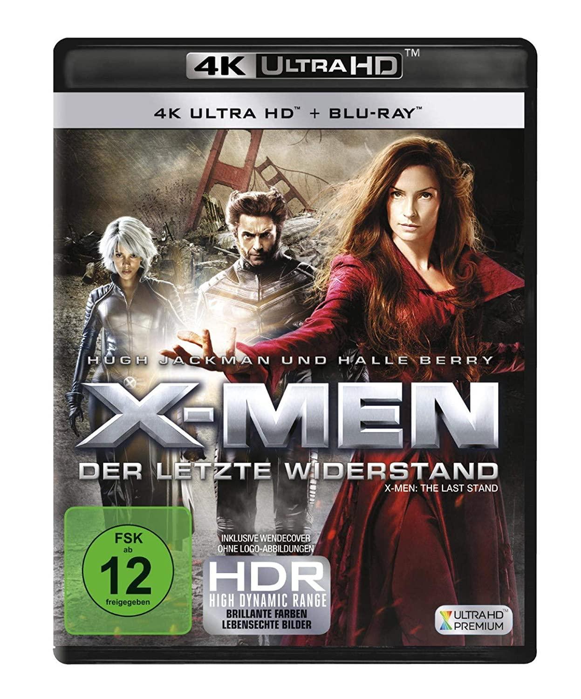 X-Men - Der letzte Widerstand 4K (4K UHD + Blu-ray) für 14,30€ (Amazon Prime)