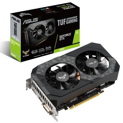 ASUS TUF GeForce GTX 1660 6G Gaming Grafikkarte (HDMI, DVI, DP)