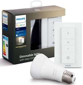 Philips Hue -1x E27 Hue White LED Lampe und Dimmer