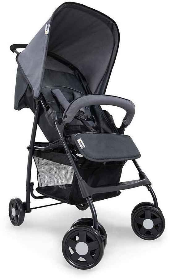 Hauck Kinder-Buggy Sport, Kinderwagen, Farbe Charcoal/Stone, Kaufland