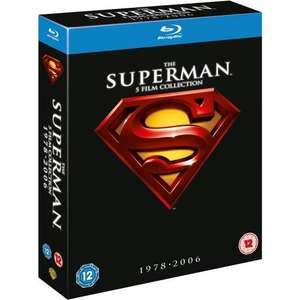 Superman Complete Collection 5 Disc BluRay Edition inkl. deutschem Ton unter 16 Euro @Amazon UK