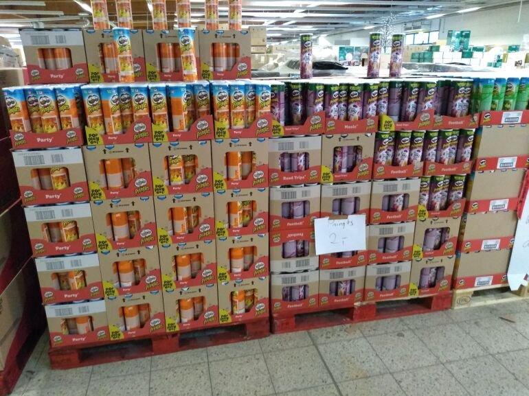 (Lokal Delmenhorst Coma Outlet) Pringles div. Sorten 1€